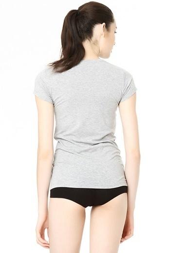 U.S. Polo Assn. Kısa Kollu Yuvarlak Yaka T-Shirt Gri